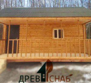 Дом каркасно щитовой